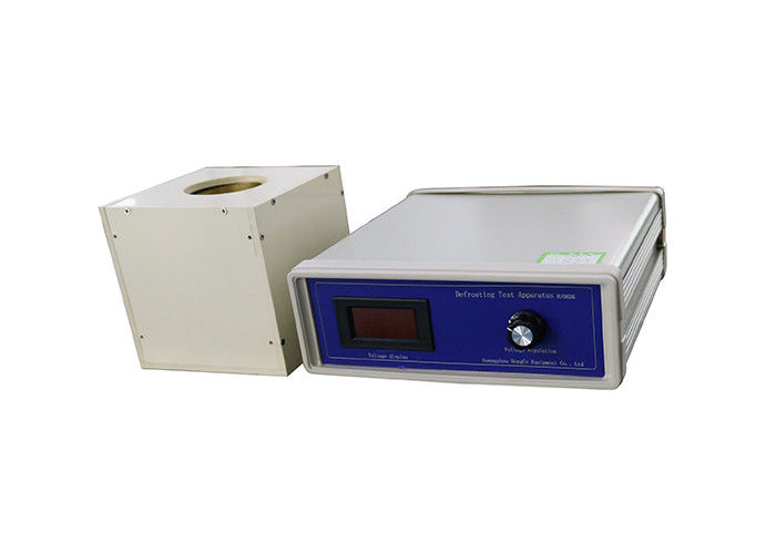IEC 60335-2-24 Defrosting Test Digital Display Adjustable Voltage Apparatus